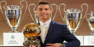2016 Ballon d'Or Ödülünü'nün sahibi Ronaldo oldu