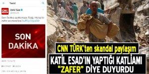 CNN TÜRK'ten skandal paylaşım