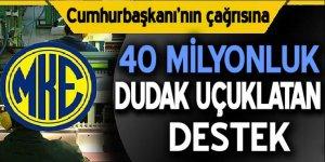 MKE'den Doların kalbine 40 milyonluk atış!