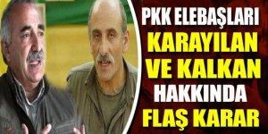 PKK elebaşlarına yakalama emri!