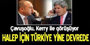 Dışişleri Bakanı Çavuşoğlu ile ABD Dışişleri Bakanı Kerry görüşüyor