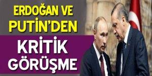 Cumhurbaşkanı Erdoğan ve Putin Halep'i görüştü!