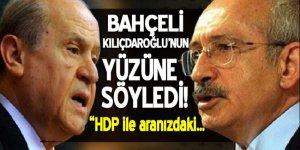 Bahçeli liderler zirvesinde Kılıçdaroğlu'nun yüzüne söyledi