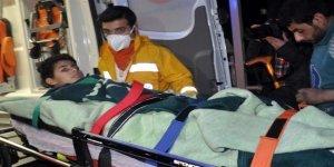 Halep'ten 6 yaralı Türkiye'ye getirildi