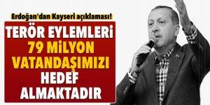 Cumhurbaşkanı Erdoğan'dan Kayseri açıklaması!