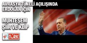 Ekşioğlu'ndan Avrasya Tüneli açılışında çok özel Erdoğan klibi!