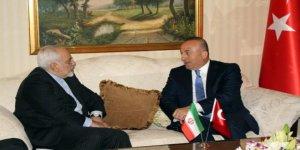 Çavuşoğlu, İranlı mevkidaşı Zarif ile Halep'i görüştü