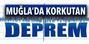 Muğla'da 5.1 şiddetinde deprem!
