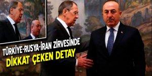 Türkiye – Rusya - İran zirvesinde dikkat çeken detay