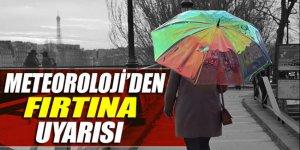 Ege'de kuvvetli fırtına uyarısı: Seferler aksayabilir