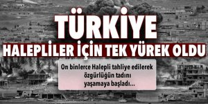 Türkiye, Halepliler için tek yürek oldu