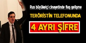 Terörist Altıntaş'ın telefonunda dört ayrı şifre tespit edildi