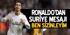 Cristiano Ronaldo'dan Suriye paylaşımı