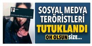 Sosyal medyada teröre destek veren bin 656 kişi tutuklandı