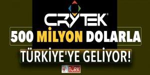 Crytek 500 milyon dolarla Türkiye'ye geliyor!