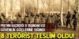 PKK'nın kaçırdığı kız çocuğu güvenlik güçlerine sığındı