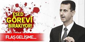 Esad görevi devredecek!