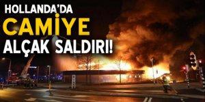 Hollanda'da cami yapılacak binada yangın