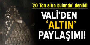 '20 ton altın bulundu' denildi… Antalya Valisi'nden 'altın' paylaşımı