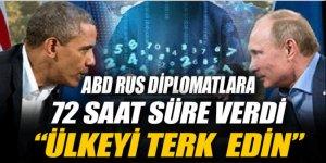 ABD Rus diplomatların ülkeyi terk etmesini istedi
