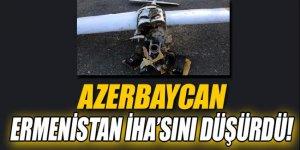 Azerbaycan Ermenistan İHA'sını düşürdü