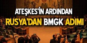 Ateşkesin ardından Rusya'dan BMGK adımı