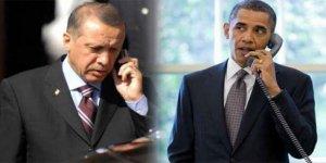 Erdoğan Obama ile telofan görüştü