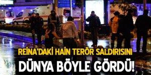 İstanbul'daki terör saldırısını dünya nasıl gördü?