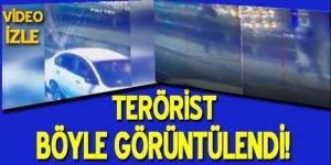 Ortaköy terör saldırısı güvenlik kamerasında