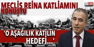 Meclis Reina katliamını konuştu! 'O aşağılık katilin hedefi...'