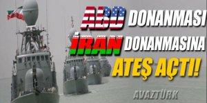 ABD donanmasından, İran gemilerine uyarı atışı