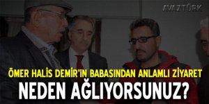 Baba Halisdemir'den şehit Sekin'in ailesine ziyaret