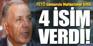Ahmet Keleş FETÖ'de tanık oldu 3 isim verdi