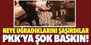Operasyon anı böyle görüntülendi… PKK'ya şok baskın!