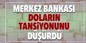 Merkez Bankası doların tansiyonunu düşürdü