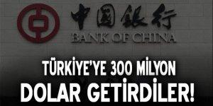 Türkiye'ye 300 milyon dolar getirdiler