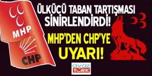 Ülkücü taban tartışması sinirleri gerdi! MHP'den CHP'ye uyarı