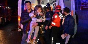 Bursa'daki yangında 10'u çocuk 17 kişi hastaneye kaldırıldı