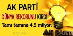 AK Parti kadın üye sayısında 4,5 milyona ulaştı