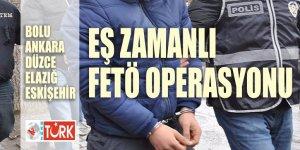 FETÖ'den 27 gözaltı! Operasyonun merkezi bu kez Bolu!