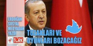 Erdoğan: Tuzakları da oyunları da yerle yeksan edeceğiz