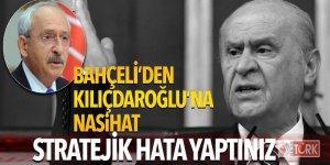 Bahçeli'den Kılıçdaroğlu'na nasihat: Stratejik hata yaptınız!
