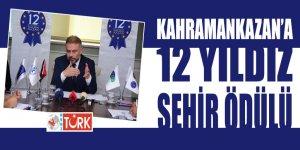 Lokman Ertürk'e büyük ödül: Avrupa Konseyi'nce 12 Yıldız Şehri ünvanı Kahramankazan'ın