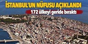 İstanbul'un nüfus sayısı açıklandı