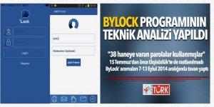 ByLock programının teknik analizi yapıldı! 38 haneye varan parolalar...