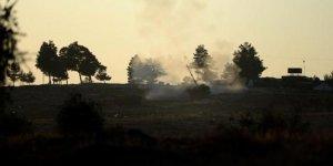 YPG mevzilerine ağır bombardıman