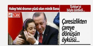 Halep'teki dramın yüzü olan minik Bana, Türkiye'yi böyle özetledi
