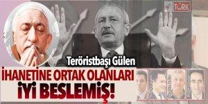 Teröristbaşı Gülen, ihanetine ortak olanları iyi beslemiş!