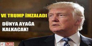 Trump Meksika'ya Duvar Örme Kararını Onayladı