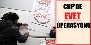 CHP Otobüslerindeki 'Evet' Mührü Kaldırıldı